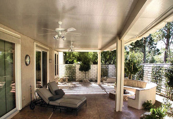 Nice Sweeping Comfortable Patio Cover