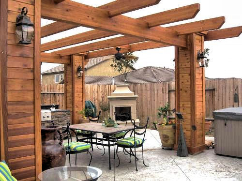 Beautiful Vegas Pergola - Factory Direct Remodeling Of Atlanta - Photo Gallery