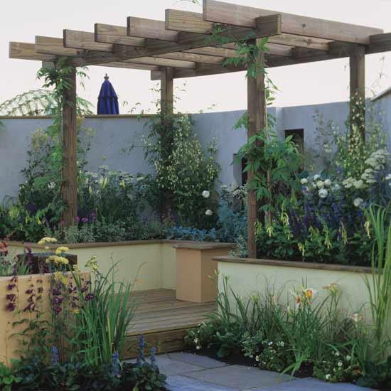 Shed Plan Garden Decking Ideas Photos