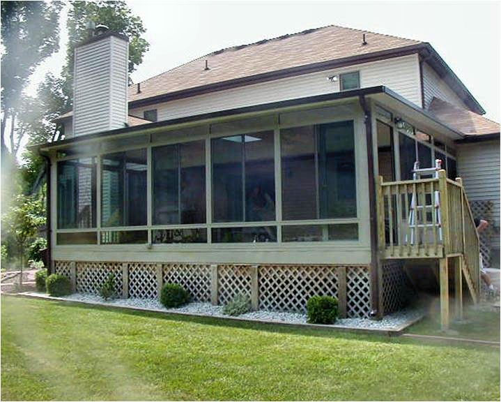 exterior home skirting ideas with Gallery Screen Rooms on Charming Victorian House With Details In Glass Screen Doors Porch Ornamentation And Skirting further 2869 Typical Terrace Floor And Parapet Construction Detail furthermore Barn Board Siding Exterior Contemporary With Board And Batten Siding moreover Gallery Screen Rooms furthermore Vinyl Lattice Panels.