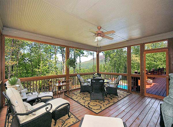 Interior Screened Porch : Factory direct remodeling of atlanta photo gallery