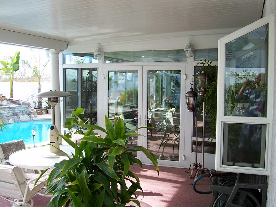 Sparkling White Sunroom Interior & Factory Direct Remodeling of Atlanta - Photo Gallery