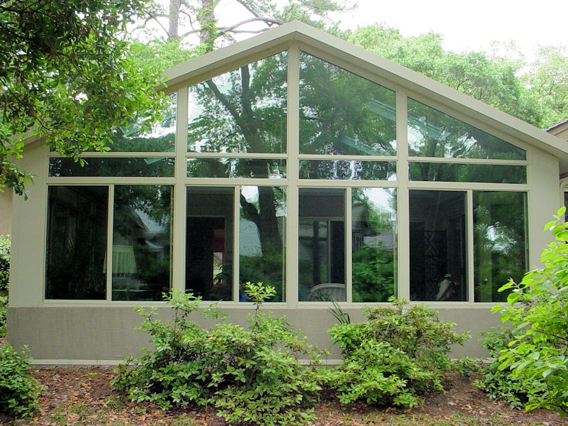 Factory direct remodeling of atlanta photo gallery Two story sunroom