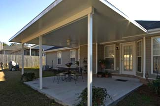 Custom Patio Covers In Wood Or Aluminum For Atlanta